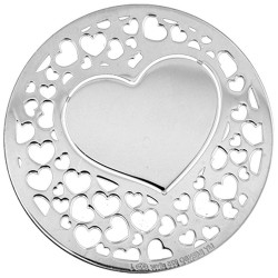 Heart cover insignia 24mm