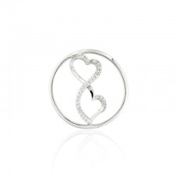 Fantasie heart cover insignia 24mm